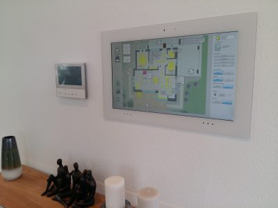 """Touch-Panel 21"""" Smart Home"""