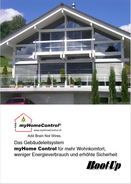 Gebäudeleitsysteme Smart Home mit myHomeControl®