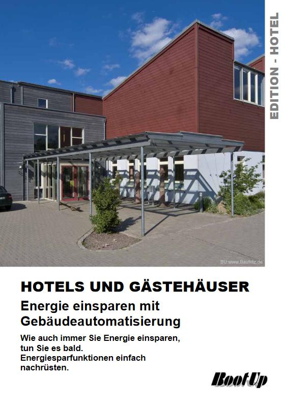 Gebäudeautomation für Hotels und Gasthäuser mit myHomeControl