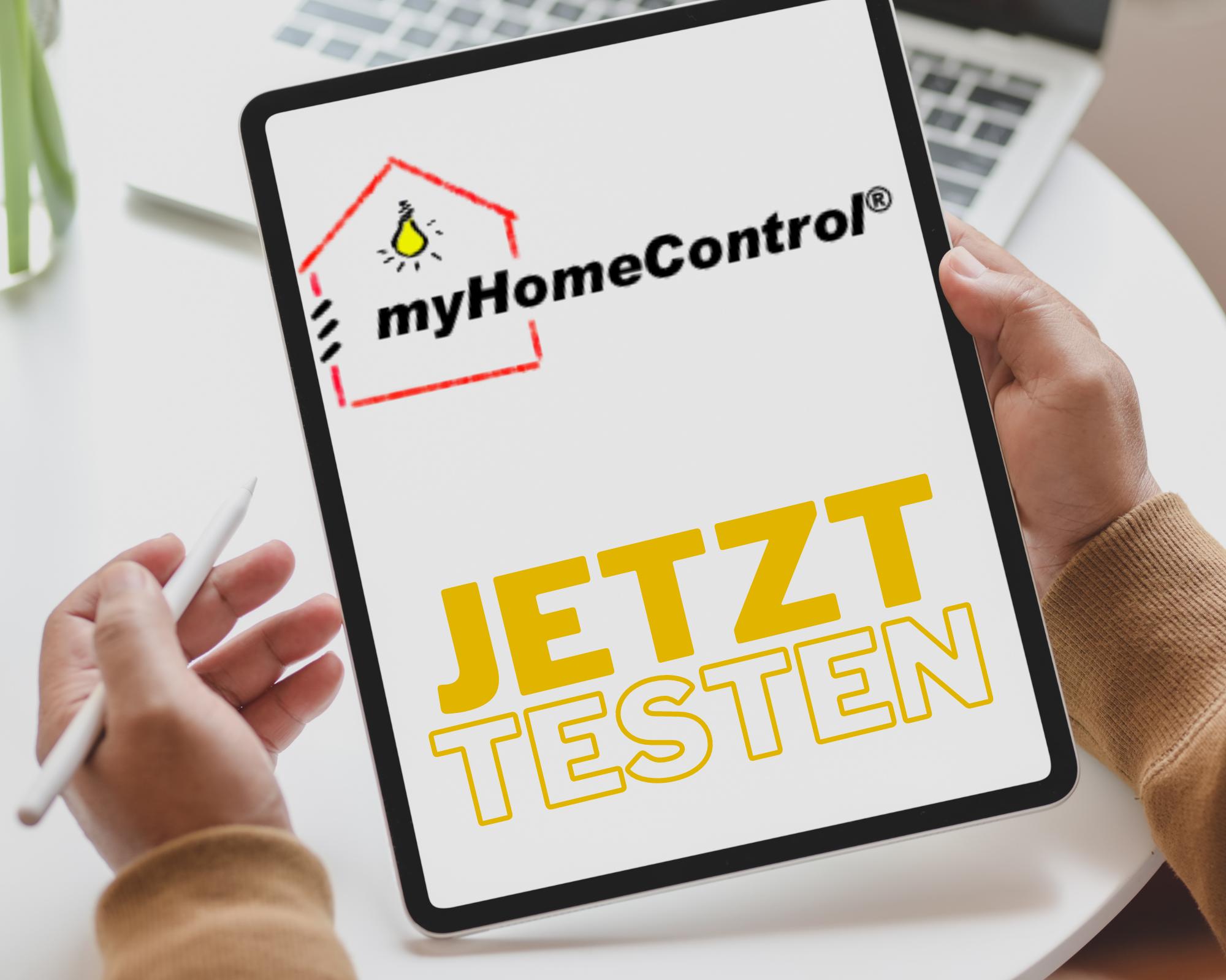 Smart Home Schweiz testen mit myHomeControl